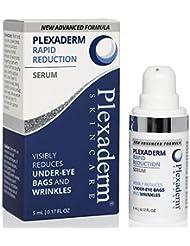 Plexaderm Rapid Reduction Eye Serum - New Advanced Formula - Visibly Reduce Under-Eye Bags, Wrinkles, Dark Circles, Fine Lines & Crow's Feet Instantly
