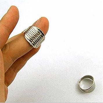 Amazon.com: Thimble Finger Protector - 5 Pieces Finger Protector ... : hand quilting thimbles - Adamdwight.com