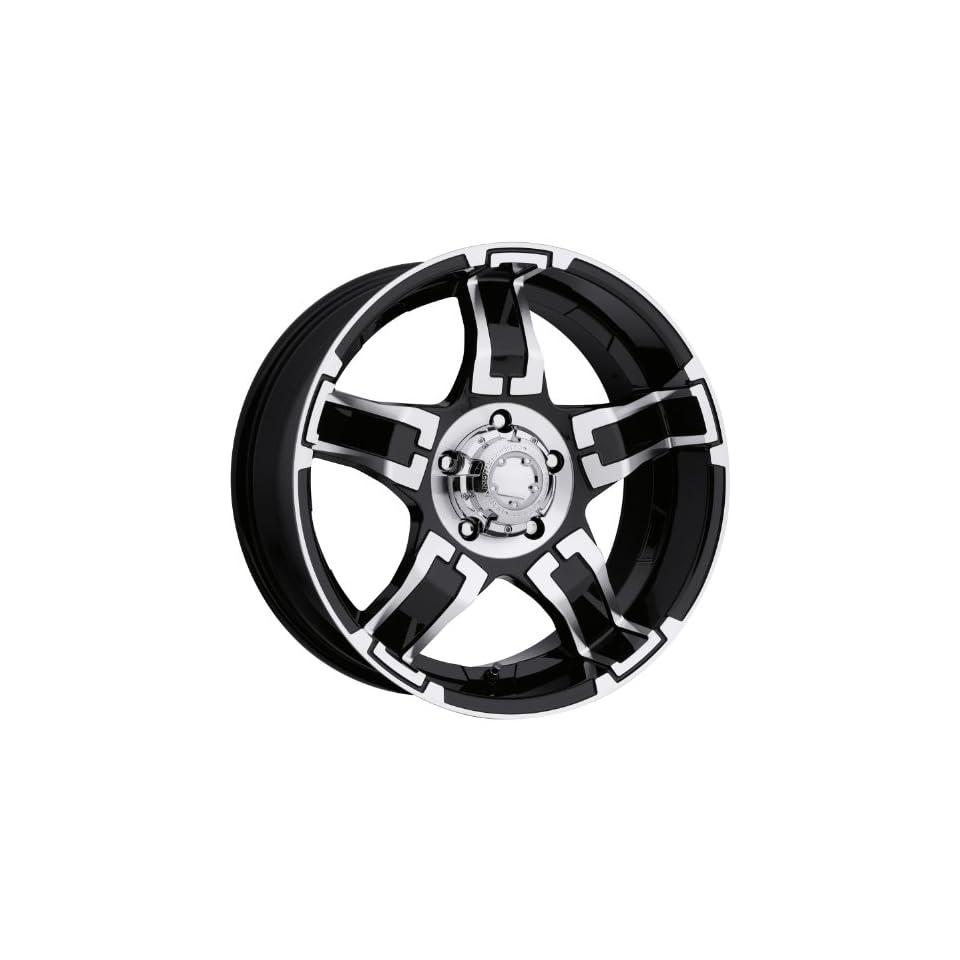 Ultra Wheel 194B Drifter Matte Black Wheel (17x8/5x5.5mm, +20 mm offset)