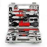 LIVINGbasics™ 37 in 1 Multi-Function Bike Bicycle Repair Tools Tool Kit Set, Included Portable Storage Box