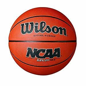 Wilson NCAA MVP Rubber Basketball, Intermediate – 28.5″