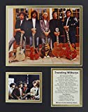 Traveling Wilburys 11'' X 14'' Unframed Matted Photo Collage By Legends Never Die, Inc.