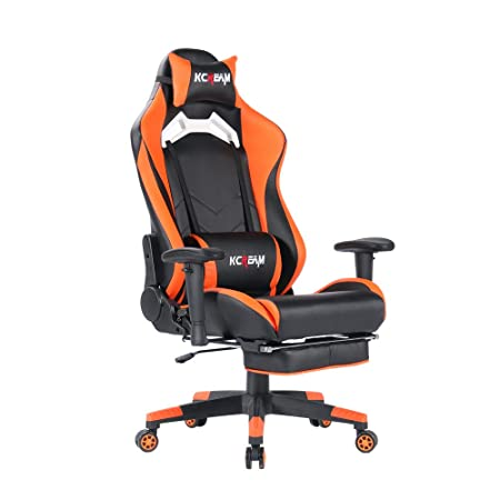 Sedie Da Ufficio Arancione.Sedie Da Scrivania Kcream Sedia Gaming Ergonomica Da Sedia Ufficio