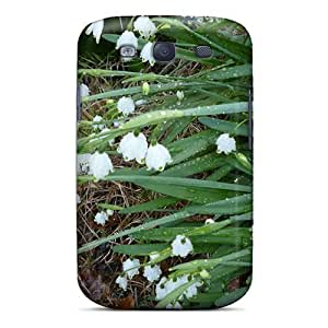 Pretty Galaxy S3 Case Cover/ Snow Bells Series High Quality Case