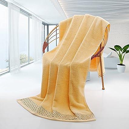 Toalla de baño absorbente adulto hombre y mujer Parejas no pierde pelo suave grueso toallas para