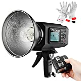 Godox AD600M 600Ws GN87 HSS Outdoor Flash Strobe Light with X1C Wireless Flash Trigger 8700mAh Battery to Provide 500 Full Power Flashes Recycle in 0.01-2.5 Second