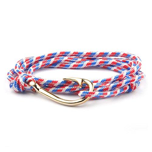 Bracelet Gold Anchor Hook Bracelets For Women Men Jewelry Handmade Femme Pulseira Joyeria Best Gifts 11