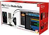 IK Multimedia  iRig Pro Duo Studio Suite complete recording bundle for iPhone, iPad & Mac/PC