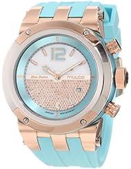 Mulco Unisex MW5-1621-413 Bluemarine Glass Chronograph Swiss Movement Watch