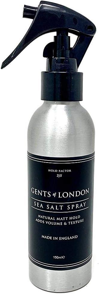 Gents of London Sea Salt Spray salino profesional para el cabello 150ml
