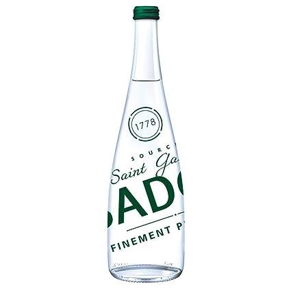 525cf0cc57 Badoit Bouteille en verre eau minérale naturellement gazeuse 12 x 75cl  (paquet de 12 x