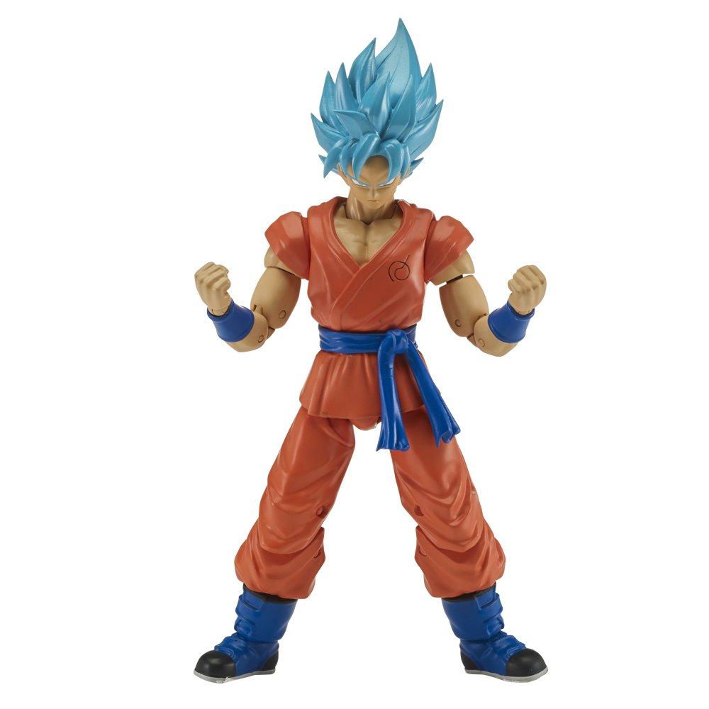 Bandai 35863 Ball-Figurine Dragon 17cm Goku Super Saiyen bleu Sammelfigur, rosa/schwarz, 17 cm
