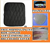 Soft Motorcycle Pillion Rear Back Seat Gel Pad for Honda VT1300CR Stateline