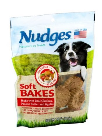 Nudges Soft Bakes with Chicken, Peanut Butter and Apples, 10 oz. (Set of 2)