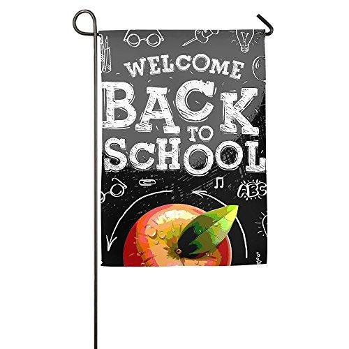 WSXEDC Back To School Home Garden Indoor/Outdoor Flags, Dura