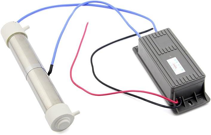 Owfeel 3 G/H tubo de cuarzo de agua purificador de aire Generador de Ozono 110 V: Amazon.es: Hogar