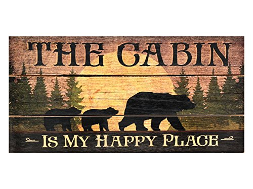 Highland Woodcrafters The Cabin is My Happy Place 12