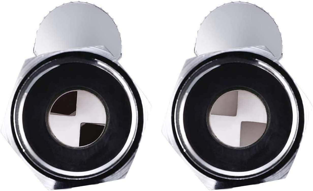 HZFJ Shut Off Valve Brass Shower Head Valve with Handle Lever G1//2 Water Flow Control Valve Regulator Chrome