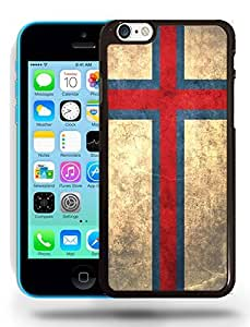 Faroe Islands National Vintage Flag Phone Case Cover Designs for iPhone 5C