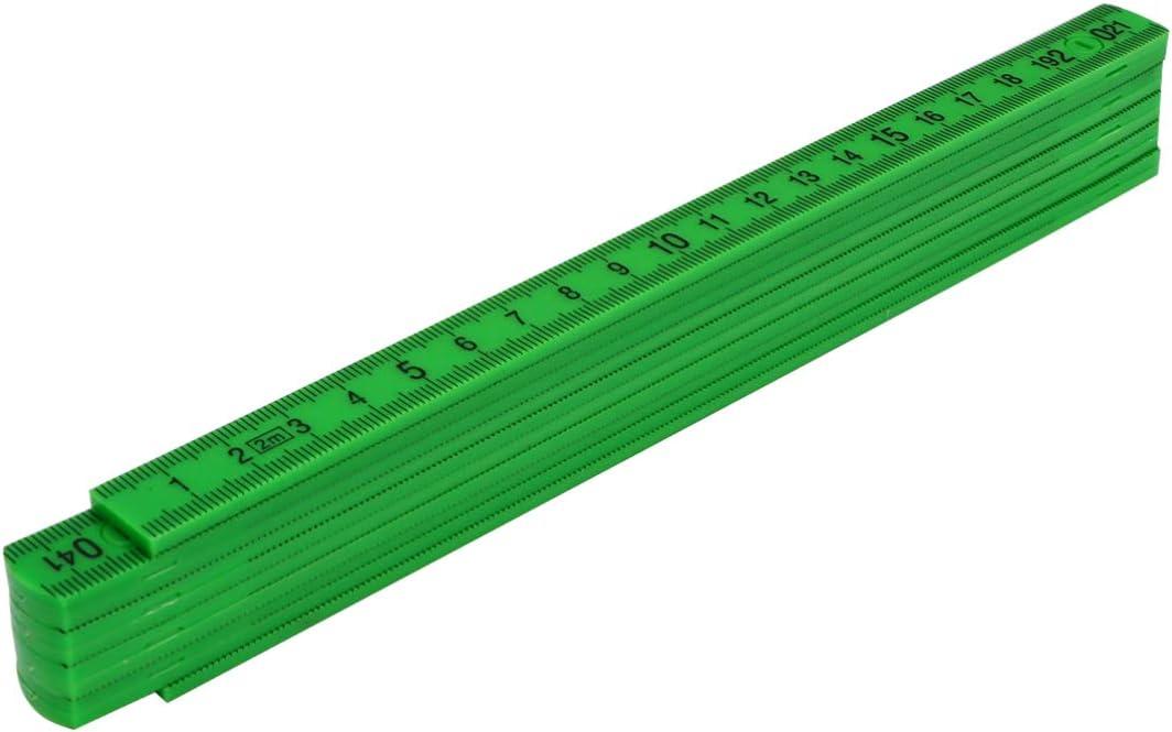 TOYANDONA Faltbare Tischler Lineal Folie Falten Lineal f/ür Tischler Bauunternehmer Renovierungsarbeiten Heimwerker Geb/äude Handel Gr/ün