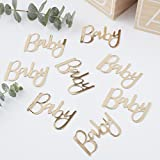 Ginger Ray Gold Foiled Baby Shower Table Scatter