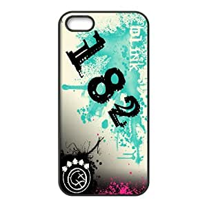 FOR Apple Iphone 5 5S Cases -(DXJ PHONE CASE)-Blink 182 Music Band-PATTERN 11