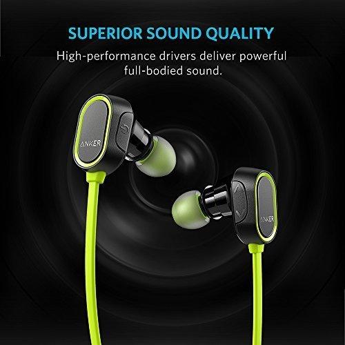 SoundBuds Bluetooth Headphones Cancellation Sweatproof