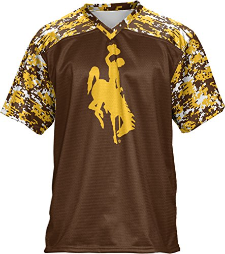 Price comparison product image ProSphere Boys' University of Wyoming Digital Football Fan Jersey (Apparel)