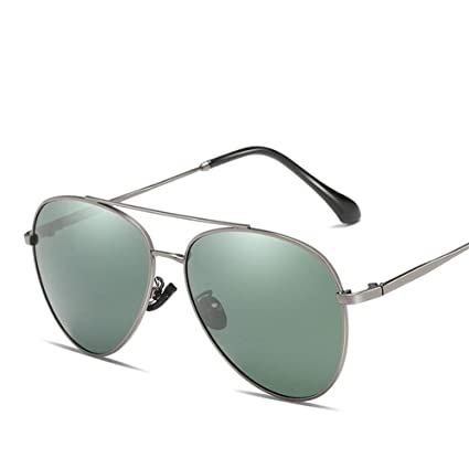 Ruanyi Gafas de Sol polarizadas, Moda de Metal con Protector ...