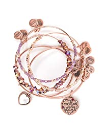 Alex and Ani Womens Written in The Stars Bracelet Set of 5