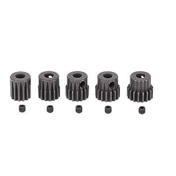 5pcs RC pinion gear set 32P 1/10 RC Car Brushed Brushless Motor Gears 5mm  13T 14T 15T 16T 17T Combo Set