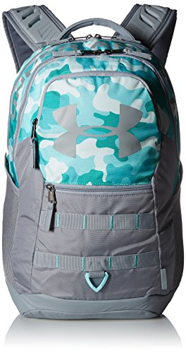 Under Armor Big Logo 5.0 Backpack, Blue Infinity/Steel, One Size