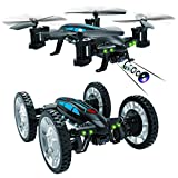 RC Drone, Bangcool RC Flying Car 4 Channel Wifi Remote Control Drone Flying Vehicles