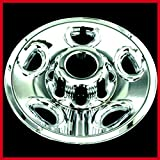 Chevy Chrome Tire Wheel Skin Rim Covers 8 Lug Hub Caps 16'' Set Of 4 - House Deals