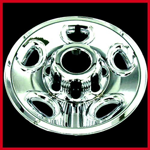 Chevy Chrome Tire Wheel Skin Rim Covers 8 Lug Hub Caps 16'' Set Of 4 - House Deals by House Deals (Image #5)