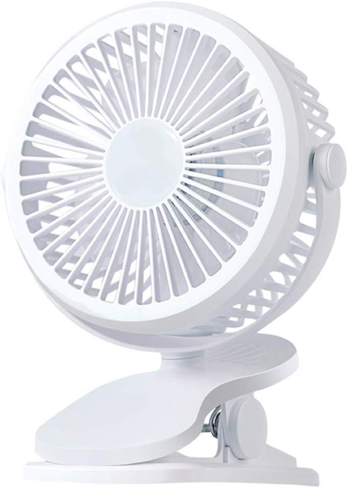 Color : A Jiu Si USB Small Fan Mini Rechargeable Student Portable Portable Desk Bed Bed Dormitory Mute USB Fan