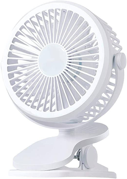 USB Small Fan Mini Student Dormitory Bed Clip Rechargeable Small Electric Fan Portable Silent Portable Hand-held Office Desktop Holding Baby Baby Baby Baby Baby Baby Battery Small Electric Fan