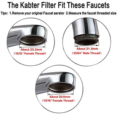 Kabter Healthy Faucet Water Filter