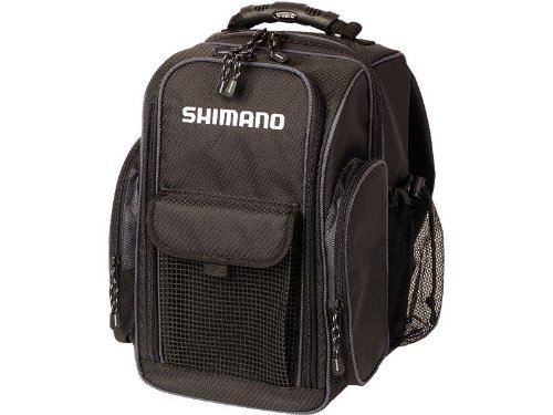 Shimano Blackmoon Fishing Backpack Black Compact BLMBP260BK, Outdoor Stuffs