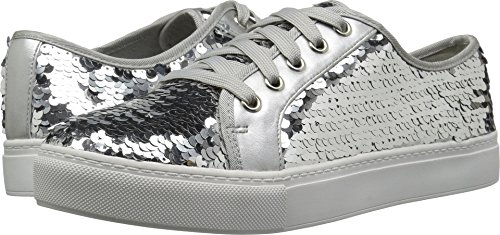 Dirty Laundry by Chinese Laundry Women's Josi Sneaker, Silver Sequins, 8 M US