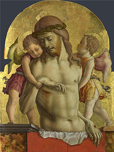carlo-crivelli-the-dead-christ-supported-by-two-angels-oil-painting-24-x-32-inch-61-x-81-cm-printed-