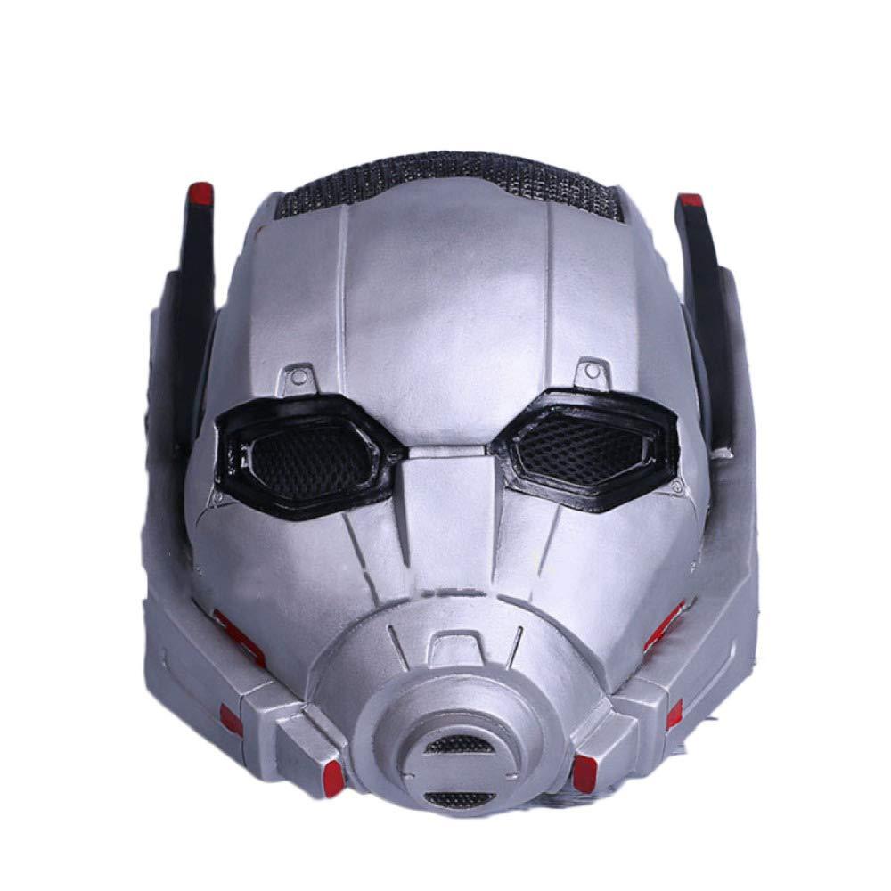 QXMEI Ameise Helm ANT Man Cosplay Halloween Ant Krieger Helm Maske,NewStyle-OneGröße