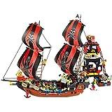 Sluban Pirate Black Pearl 632 Piece Building Block Set Lego Compatible