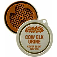 Hunters Specialties Carlton's Calls Cow Elk Urine Cover Scent Wafers