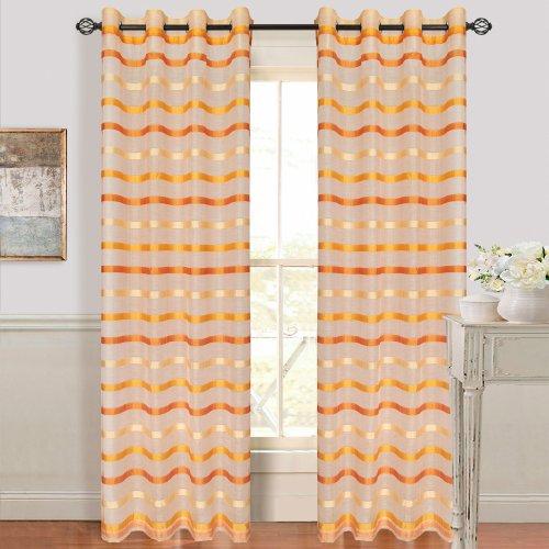 lavish-home-arla-grommet-single-curtain-panel-84-inch-lite-dark-orange