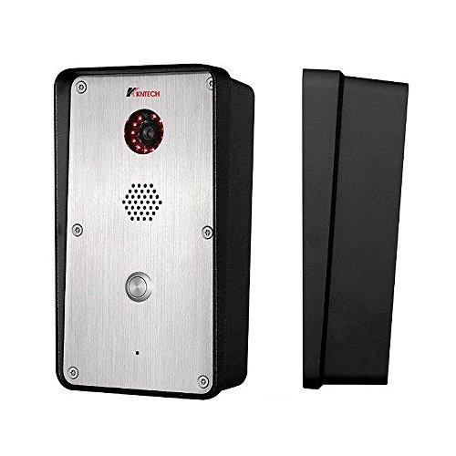 (KNTECH KNZD-47 IP Door Phone Remote to Open the Door, Intercom for Home ,Sliver)
