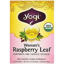 Yogi Teas Yogi Organic Woman'S Herbal Tea Raspberry Leaf -- 16 Tea Bags