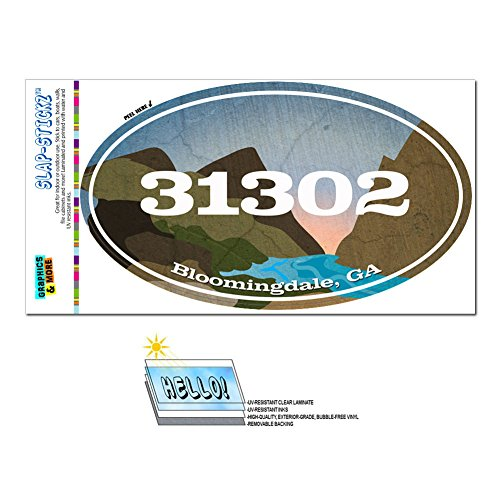 graphics-and-more-zip-code-31302-bloomingdale-ga-euro-oval-window-bumper-glossy-laminated-sticker-ri
