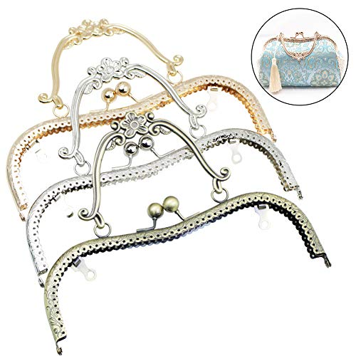 Amazon.com: GuoFa Frame Purse Frame with Handles for Bag ...