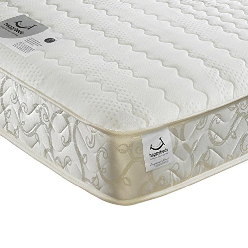 Memory Foam Open Coil Spring, Happy Beds Membound Medium Soft Tension...